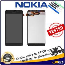 LCD DISPLAY Per NOKIA LUMIA 640 XL TOUCH SCREEN SCHERMO RM-1066 RM-1062 NERO