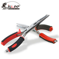 Portable Outdoor Fishing Plier Tackle Lure Hook Remover Line Cutter Scissors New