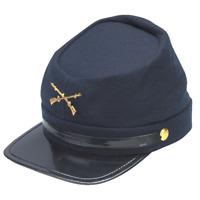 Civil War Kepi Union Army Wool Hat Blue Lined US North Hats size 57 cm