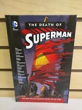 The Death of Superman Hardcover + Doomsday DVD / Blu-Ray - Pre-Owned HC