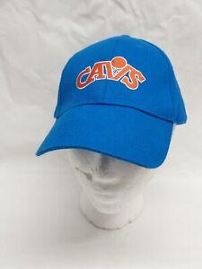 Cleveland Cavs Vintage Baseball Hat hook & loop Adjustable Blue