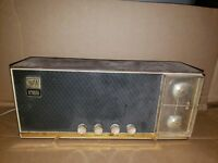 Vintage Arvin AM/FM Desktop Nightstand Radio for Parts or Repair