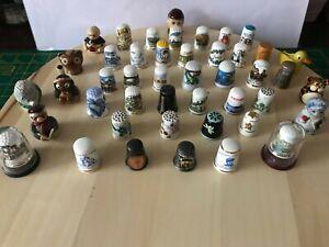 Thimbles Collection job lot No.5    45 Thimbles