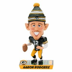 Aaron Rodgers Green Bay Packers Caricature Special Edtion Bobblehead NFL