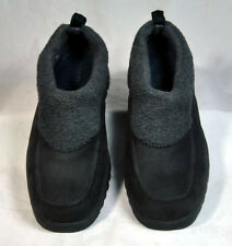 Sperry Slip-on Lined Leather Boots Shoes Dark Brown Men's Size 8M