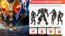 NEW Anthem Legion of Dawn PLAYSTATION 4 PS4 BONUS PRE ORDER DLC VIP EA BioWare