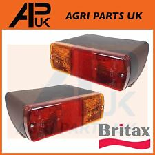 Ford 2600 3600 3900 4600 5600 5700 6600 6700 7600 Tractor Rear Light Lamp PAIR