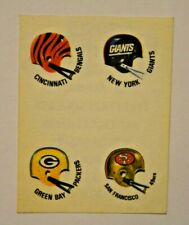 Panini Stickers/80-er Years / NFL Football with Green Bay Packers, Giants, 49ers
