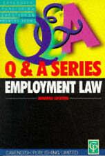 The Cavendish Employment Law Q & A Series, Lockton, Deborah, Used; Good Book