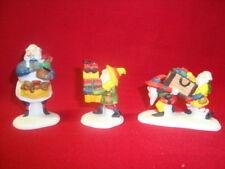 Dept 56 HeritageVillage Toymaker Elves Mib #5602-2