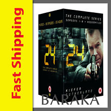 24 - Complete Season 1-8 + Redemption DVD Box Set  (New Packaging)