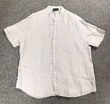 Emporio Armani Linen Shirt Size XL