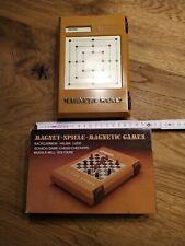 Magnetspiele - Reisespiel - Backgammon - Halma - Schach - Mühle u.a. - in OVP