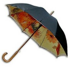 """Sunflower""double sewing long size automatic umbrella"