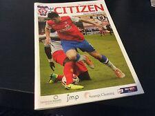 York City v Newport County 2013-14 1st Season in League
