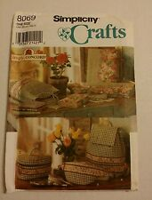 Simplicity Crafts Simply...Concord  Pattern 8069 Bags and Covers