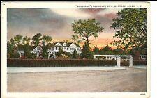 """1920's The """"Rosebank"""", Residence of E.G. Grace in Aiken, SC South Carolina PC"""