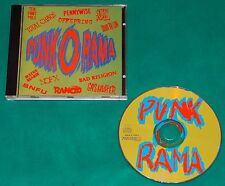 Punk O Rama 1 BRAZIL 1st press CD 1996 Paradoxx Rancid Pennywise Bad Religion