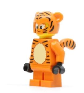 NEW LEGO STORE TIGER CUB SUIT GIRL halloween bam hol128 minifig figure cat tail