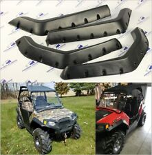 Polaris RZR 800, RZR S, RZR 4 Fender Flares Set of 4 Black 3'' kit for 2008-2014