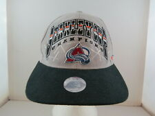 Colorado Avalanche Hat (VTG) - 1996 Stanley Cup Champions by Starter - Snapback