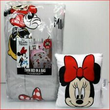 Minnie Mouse 5 Piece Bed -In-Bag-Comforter, Sheets, Pillow Case, Pillow