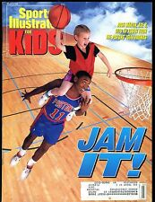 Sports Illustrated For Kids March 1992 w/Mint Cards Dominique Wilkins+ jhsi