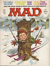 MAD Magazine #214 UK Edition 1980