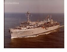 US Navy Ship Submarine Tender Emory S.Land AS-39 Official Photo 8x10