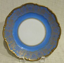 Set of 4 Weimar Dora Blue Salad Plate # 40051