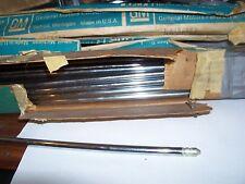 1958,59,60,61,62, Chevrolet original  antenna masts 3 sec.CHROME NOS
