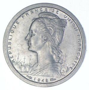 1948 Cameroon 1 Franc - TC *603