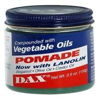 Dax Vegetable Oils Pomade 3.5oz Jar