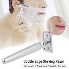 Rasoir manuel de rasoir de rasage de sûreté d'acier inoxydable de O7H2