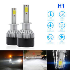 2× LED Headlight H1 1500W 225000LM Kit High Low Beam Bulb Xenon 6000K Bulb Power