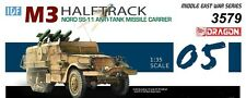 DRAGON 3579 IDF M3 Halftrack et SS11