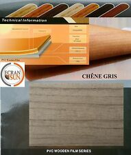 covering adhesif BOIS CHENE GRIS - thermoformable - ( 50 cm x 1.22 m)