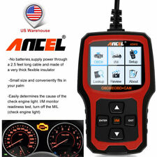 Ancel AD410 Car OBD2 Code Reader Check Engine Diagnostic Tool Automotive Scanner