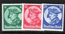 GERMANY Sc 398-400 NH ISSUE OF 1933 - POTSDAM DAY - FREDERICK THE GREAT
