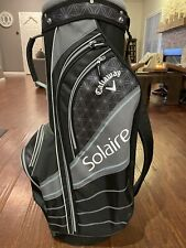 Callaway Solaire Golf Bag - Black - Brand New Never Used - 6 Way Divider