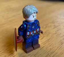 Custom Captain America Lego Minifigure PAD Printed
