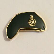 Royal Marines Beret Metal Enamel Lapel Pin Badge, Military - New