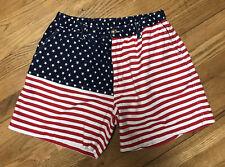mens CHUBBIES 'merica stars & stripes waist shorts size L