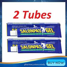 2 Tubes x 30g Hisamitsu Salonpas Gel Muscle Pain Relief!!!