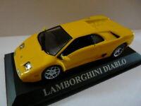 DCD2E voiture 1/43 altaya IXO DREAM CARS boite vitrine: LAMBORGHINI Diablo jaune