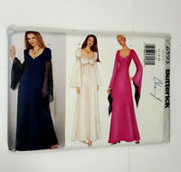 Butterick 6593 Sz 12-14-16 Gown Halloween Costume Sewing Pattern UNCUT