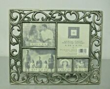 Pewter Table Top Collage Photo Frame 5 Photos 10 by 8 New