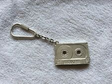 MAXELL STERLING SILVER 925 CASSETTE KEYCHAIN