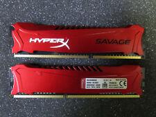 Kingston HyperX Savage DIMM Kit 8GB, DDR3-1600, CL9-9-9 (HX316C9SRK2/8)