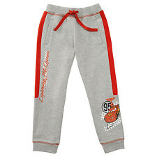 NWT Disney Cars Licensed Lightning McQueen Boys Grey Tracksuit Pants Size 6